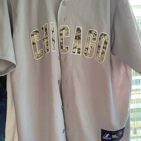cheap for discount fd8c3 2666f Chicago Cubs limited edition Camo jersey